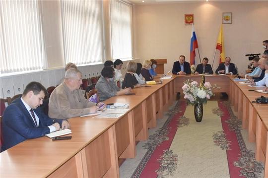 Расширенное заседание Комиссии по бюджету, экономике, земельным и имущественным отношениям Собрания депутатов