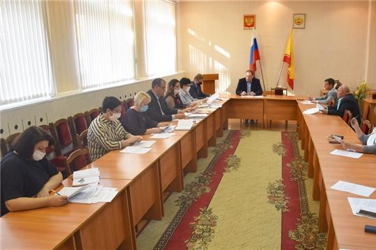Состоялось заседание Координационного совета по поддержке и развитию малого и среднего предпринимательства в городе Шумерле