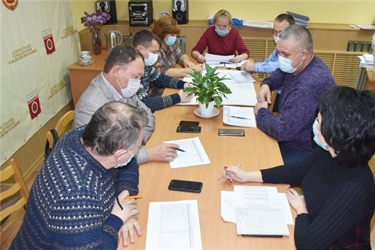 В Шумерле комиссия определила дворовые территории для благоустройства в 2021 году согласно 139 Указа Главы Чувашии