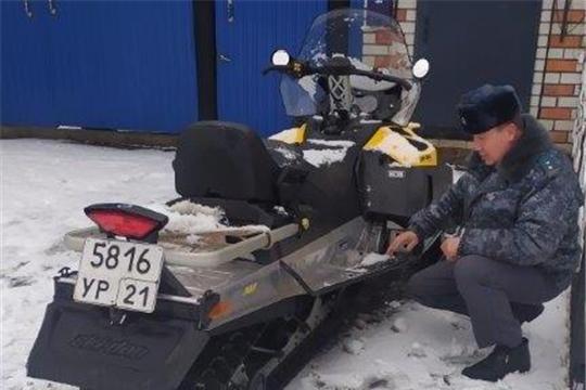 """Проведен рейд мероприятия """"Снегоход 2020"""""""