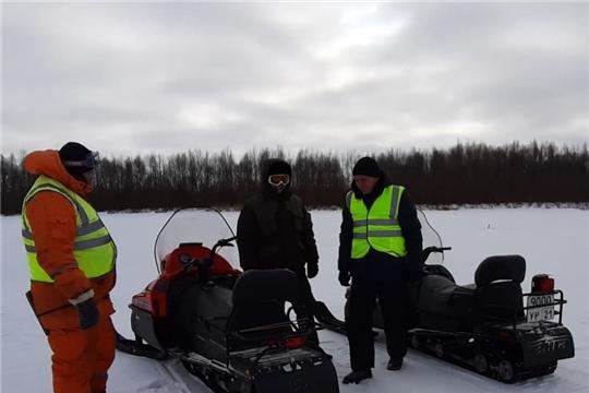 """Профмероприятие """"Снегоход"""" в Ядринском районе"""