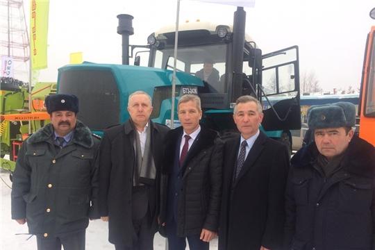 Начальник Гостехнадзора Чувашии Владимир Павлович Димитриев принял участие в XII Межрегиональной отраслевой выставке «Картофель-2020».