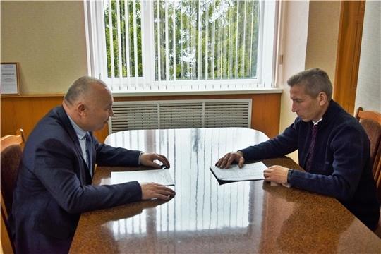 Начальник Гостехнадзора Чувашии Владимир Димитриев с рабочим визитом посетил Вурнарский район