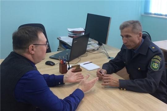 Димитриев В.П. посетил Чебоксарский техникум ТрансСтройТех