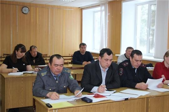 На заседании комиссии по обеспечению   безопасности  дорожного  движения в Моргаушском районе.рассмотрели вопрос о  состоянии   аварийности на дорогах за 2019 год.