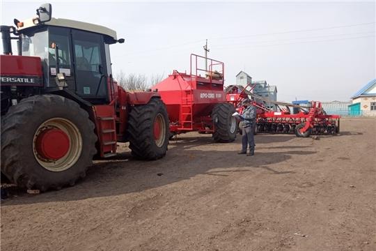 Исправная техника - залог успешной работы на полях