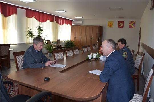 Начальник Гостехнадзора Чувашии Владимир Димитриев инспектирует прохождение технических осмотров поднадзорной техники