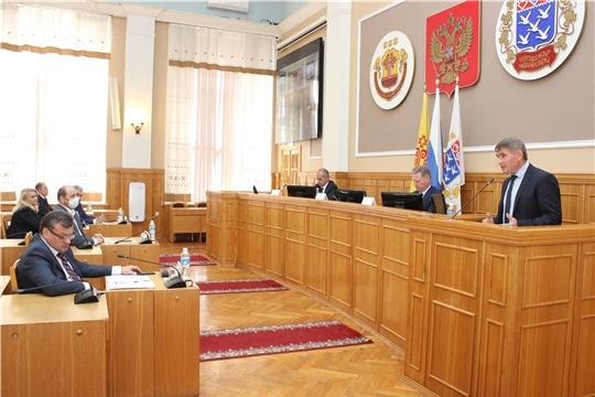 Олег Николаев принял участие в обсуждении пятилетней программы развития столицы Чувашии