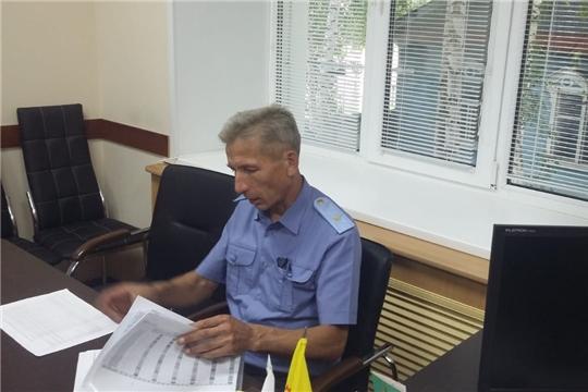 Начальник Гостехнадзора Чувашии Владимир Димитриев посетил Шемуршинский район
