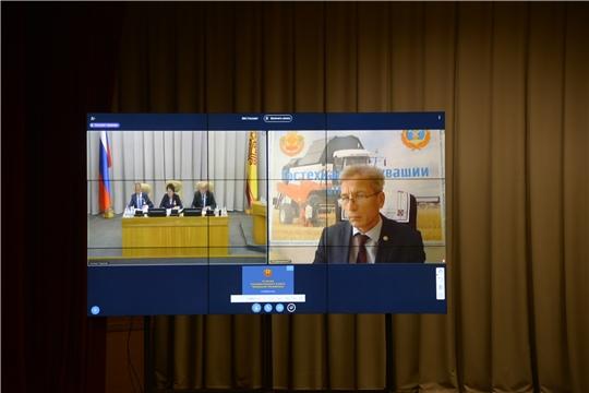 Владимир Димитриев выступил на заседании Государственного Совета Чувашской Республики