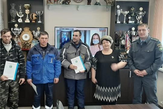 В Порецком районе прошел смотр-конкурс по постановке техники на зимнее хранение