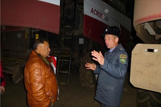 Начальник   Гостехнадзора Чувашии  посетил в  Шумерлинский  и Красночетайский  районы