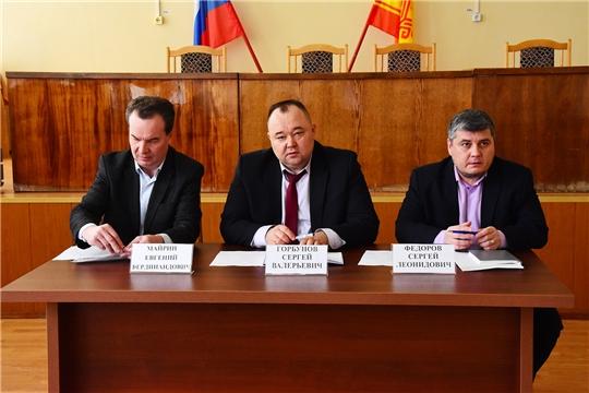 Состоялось совещание с участием представителя Минстроя Чувашии и регионального оператора  ООО «МВК «Экоцентр»