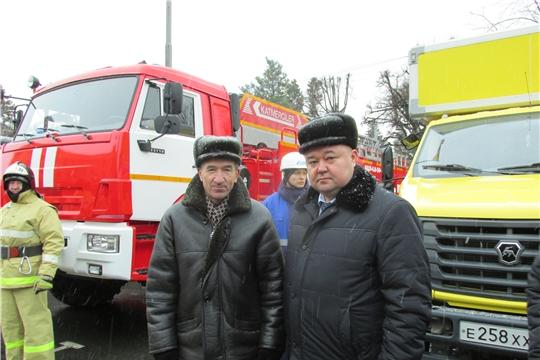 Ибресинское городское поселение Ибресинского районного звена ТП РСЧС Чувашской Республики наградили дипломом III степени