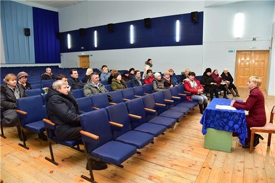 Состоялся семинар для работников культурно-досуговых учреждений Ибресинского района