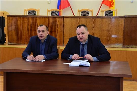 Совещание с руководителями сельскохозяйственных предприятий Ибресинского района
