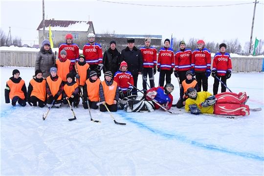 Состоялся турнир на кубок главы Айбечского сельского поселения по хоккею с шайбой