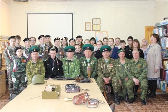 Состоялась встреча с представителями районного отделения «Пограничное братство»