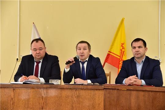 Состоялось 47 заседание Собрания депутатов Ибресинского района 6 созыва