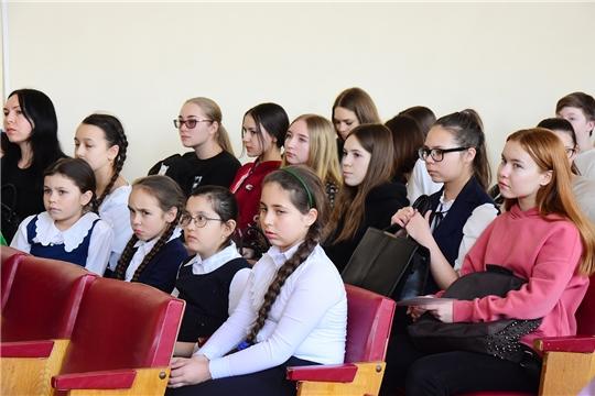 Состоялась встреча с молодыми избирателями Ибресинского района