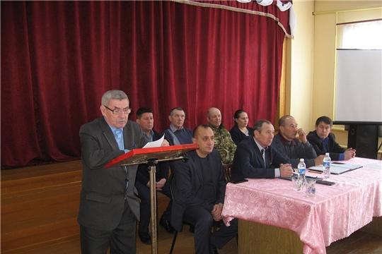 В колхозе «Красный партизан» состоялось общее собрание трудового коллектива