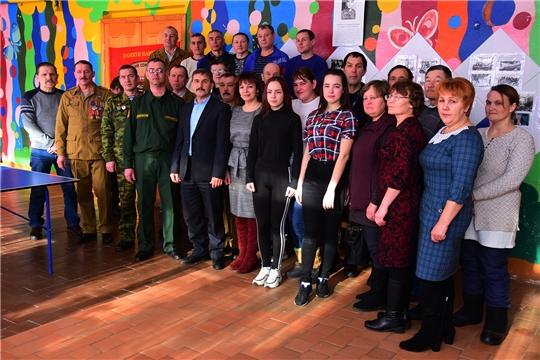 Прошел XIII-ый турнир по настольному теннису памяти воина-интернационалиста Александра Лебедева