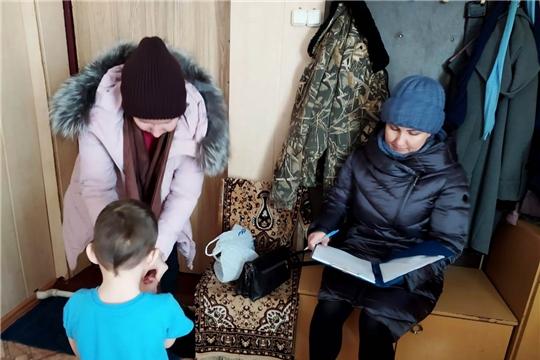 Прошел профилактический рейд на территории Большеабакасинского сельского и Ибресинского городского поселений