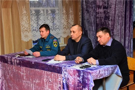 Встреча с жителями д. Сосновка и Малый Кукшум Ширтанского сельского поселения