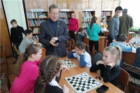 Прошли районные соревнования по шашкам