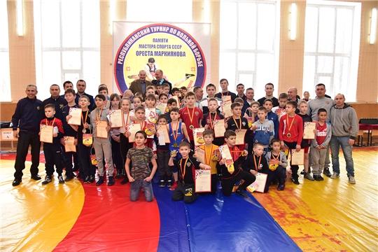 Прошел 25-ый республиканский Климовский турнир по вольной борьбе памяти мастера спорта СССР Ореста Маркиянова