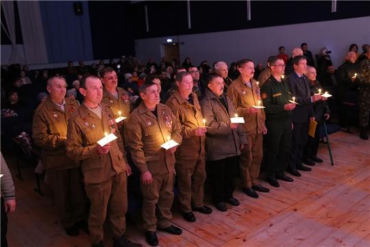 Торжественное мероприятие, посвященное 31-й годовщине вывода Советских войск из Афганистана, прошло в Ибресинском районе