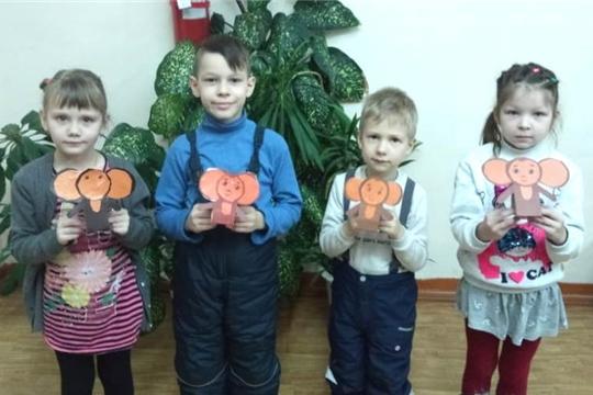 В Детской библиотеке Ибресинского района прошло литературное путешествие «Добрый мир любимых книг»