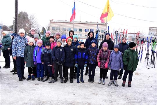 Соревнования по лыжным гонкам  «Малая лыжня Камаева Поля» на призы ООО «Новочурашевский молочный завода»