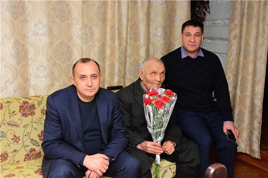 Юбилейная медаль вручена труженику тыла Яковлеву Михаилу Дмитриевичу