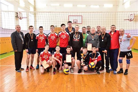 Чемпионат Ибресинского района по волейболу