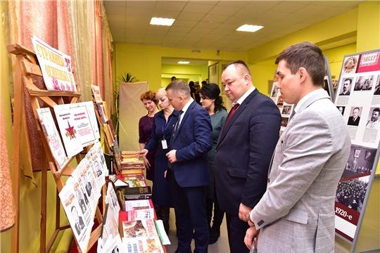 В честь празднования 100-летия со дня  образования Чувашской автономной области в Ибресинском районе действуют выставки