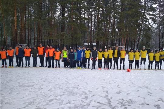 Прошло Первенство Ибресинского района по зимнему мини-футболу