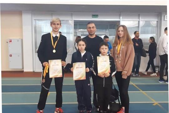 Спортсмены Ибресинского района - победители и призеры республиканских соревнований «Шиповка юных»