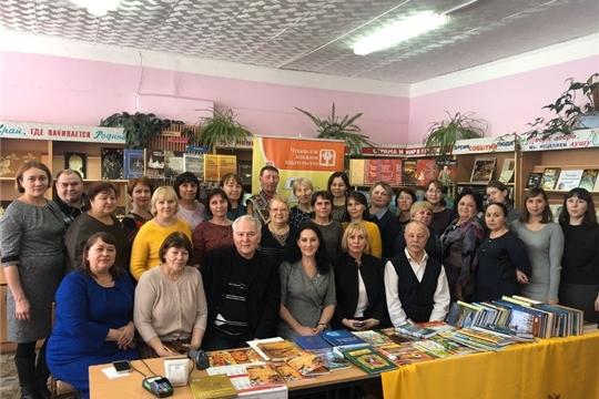 День чувашской литературы прошел в Центральной библиотеке