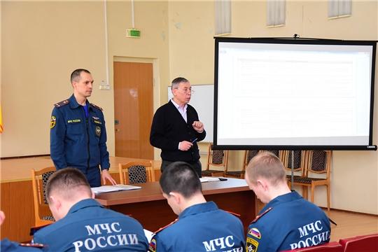 В Ибресинском районе идет подготовка к командно-штабной тренировке