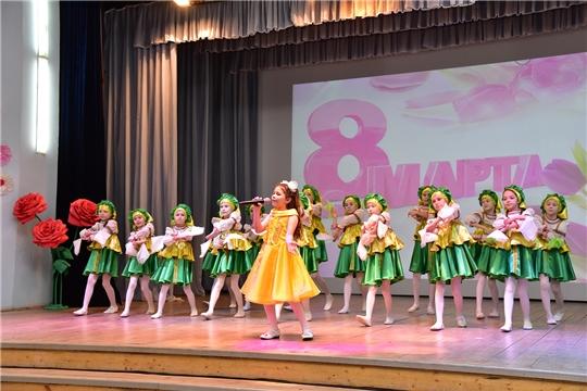 Состоялся праздничный концерт, посвященный Международному женскому дню 8 марта
