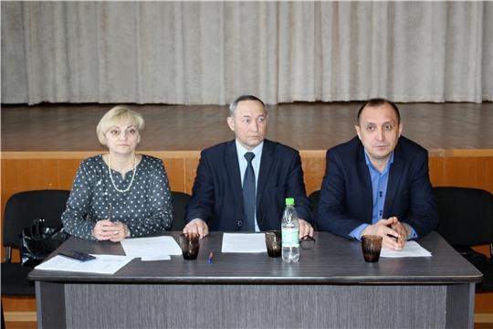 В Ибресинском районе завершаются встречи с населением с отчетами глав поселений и администрации Ибресинского района