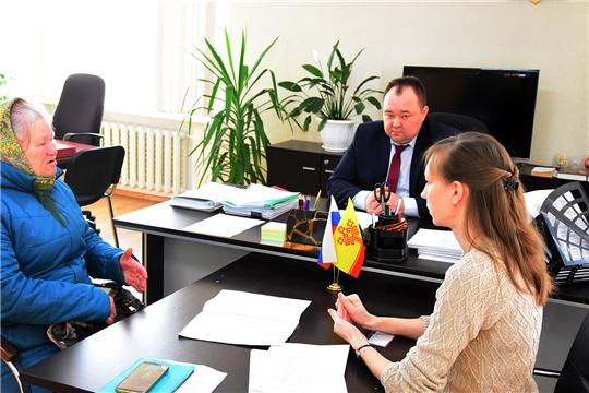 Сергей Горбунов провел прием граждан