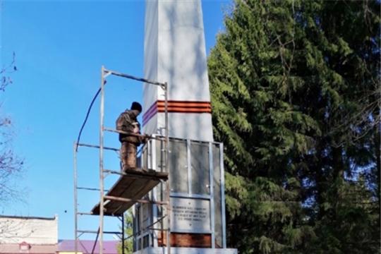 В п. Ибреси восстанавливается обелиск павшим в Великой Отечественной войне