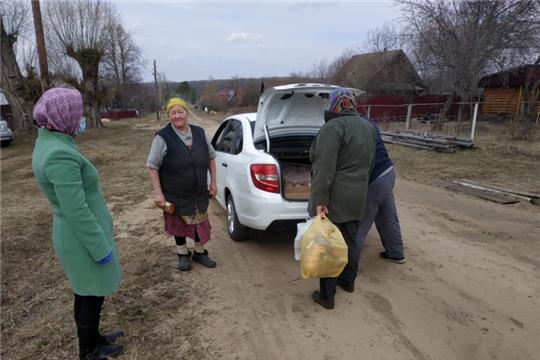 Выезд в отдаленные населенные пункты Климовского сельского поселения
