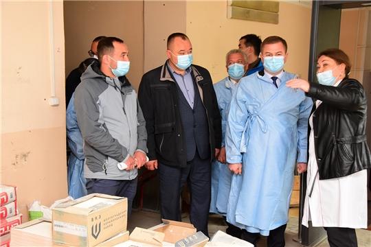 Министр здравоохранения Чувашии Владимир Степанов с рабочим визитом посетил Ибресинскую ЦРБ