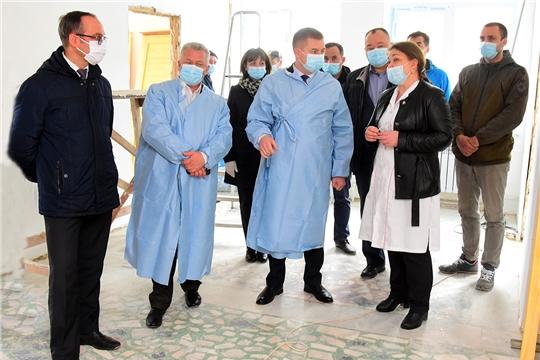 Рабочий визит министра здравоохранения Чувашии в Ибресинский район