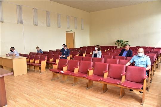 Состоялось расширенное заседание антитеррористической комиссии Ибресинского района