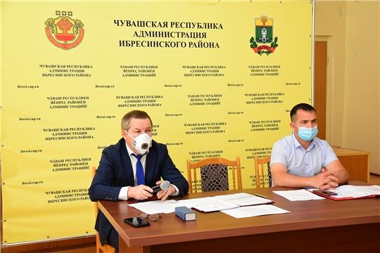 Состоялось очередное заседание Собрания депутатов Ибресинского района 6 созыва