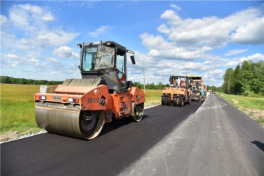 Ведется капитальный ремонт автомобильной дороги «Ибреси-Березовка-Кудеиха»